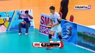 Pakistan Vs Japan Asian Men's Club Volleyball Championship Myanmar 2018