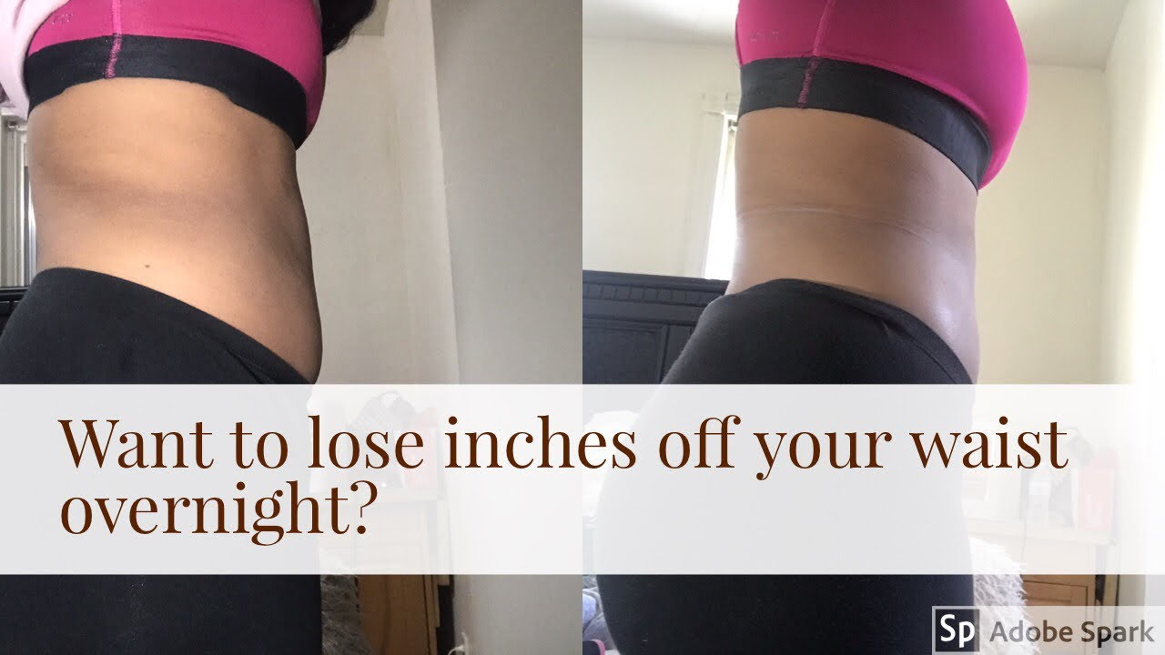 Want to lose inches off your waist overnight ? - YouTube