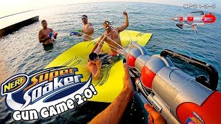 NERF GUN GAME | SUPER SOAKER EDITION 2.0 (Nerf First Person Shooter)