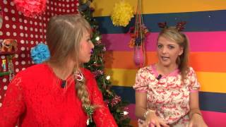 Kijk Kerstbomen knutselen filmpje