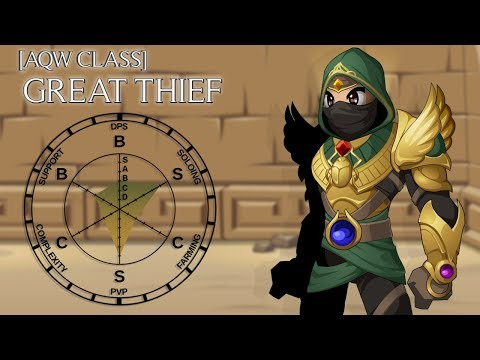 AQW Great Thief Overview