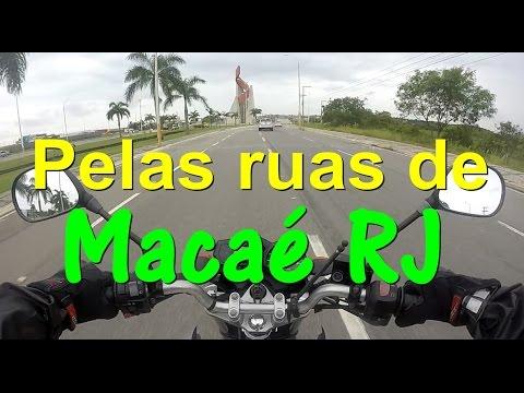 Pelas ruas de Macaé RJ.