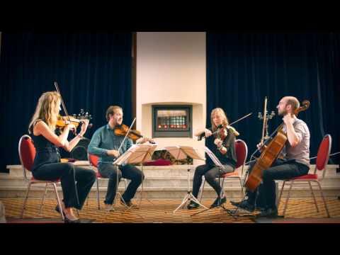 North Sea String Quartet plays