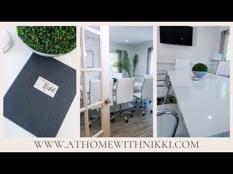 How To Set-up A Small Conference Room