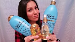 OGX Argan Oil of Morocco Shampoo & Conditioner Review