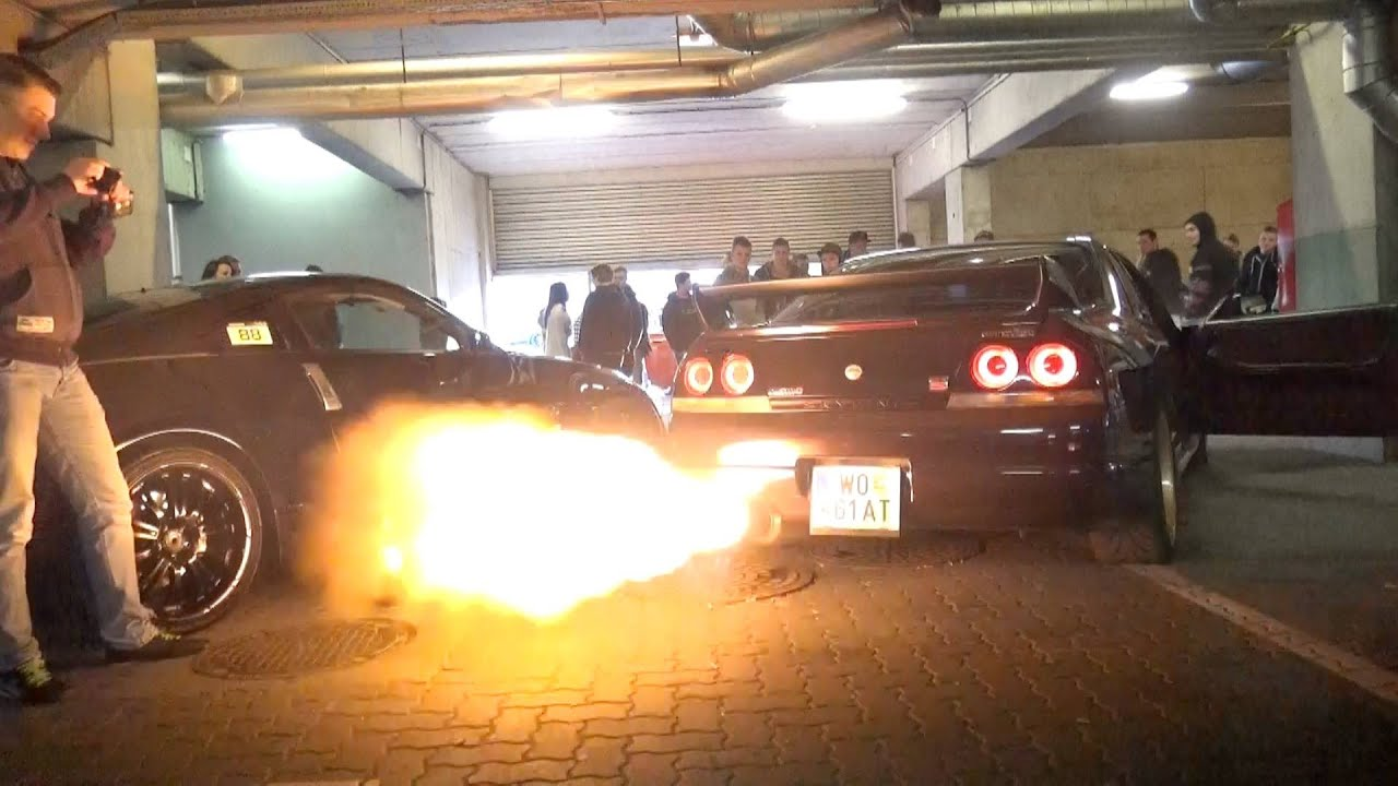 JDM Car Meet In Austria   2JZ Supra Anti Lag FLAMES, Supercharged LS2  Corvette Burnout U0026 Much More!   YouTube