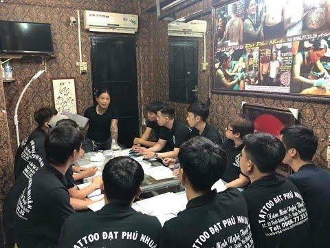 Học Xăm hình tại Tattoo Đạt Phú Nhuận. Giá Tiền Học Phí 15 triệu. Khóa học 3 tháng Tel: 0906773335