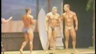 Swolls, Chico Body Building Contest