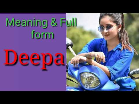 Meaning  Of  Deepa And Lucky Number Of  Deepa