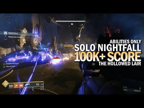Solo 100k Nightfall
