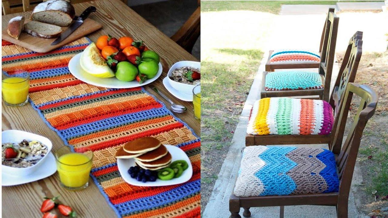 Cosas para el hogar tejidos a crochet n 07 youtube for Cosas para el hogar