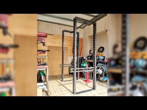 COMPLETED! DIY Starting Strength Power Rack