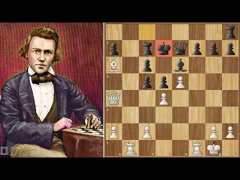 The Only Move! || Morphy Vs Löwenthal (1858)