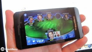 Texas Hold'em King comes to BlackBerry 10 and the PlayBook
