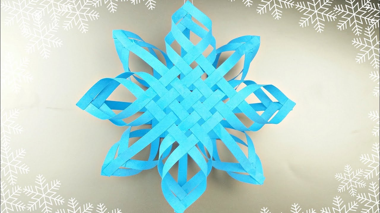 How to make origami Snow Maiden. Modular origami scheme 11
