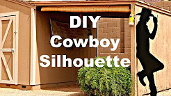 How to Make a Cowboy Silhouette