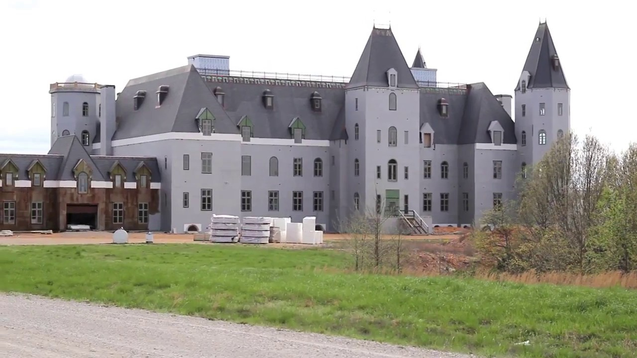 Chateau Pensmore Tour The Ultimate Tornado-Proof Home ...
