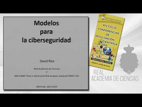 David Ríos Insua, 19 de abril de 2018.13º conferencia delXIV CICLO DE CONFERENCIAS DE DIVULGACIÓN CIENTÍFICA.CIENCA PARA TODOS 2018http://www.rac.eshttps://twitter.com/racienciashttps://arac.rac.es/