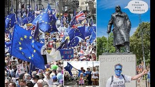 100,000 march in London to demand a second EU referendum - 247 news