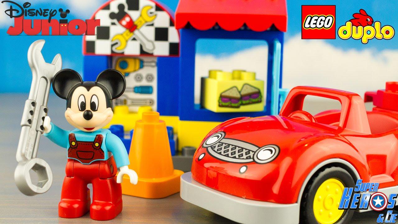Junior Clubhouse Mouse 10829 Lego Review Toy Disney L'atelier Jouet De Duplo Mickey 6gybfY7