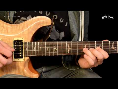 I Want It All Queen Intro Solo Guitar Tutorial HD + Tab