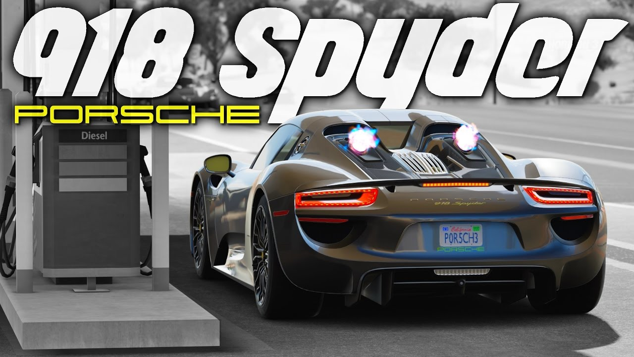 Forza Horizon 3 Porsche 918 Spyder Gameplay HD 1080p