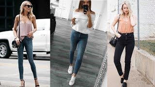 Women Jeans Stretch Skinny Pencil Pants Casual Denim Jean Review