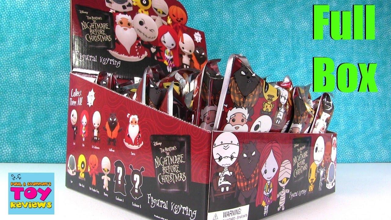 Nightmare Before Christmas Disney NBC Figural Keyrings Series 2 ...