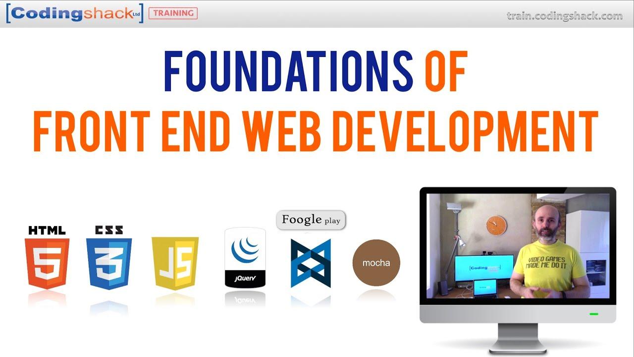 front end web developer