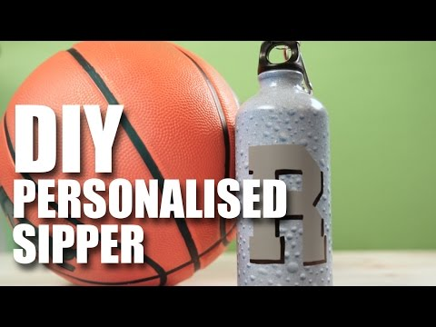 How To Make A DIY Personalised Sipper   Mad Stuff With Rob