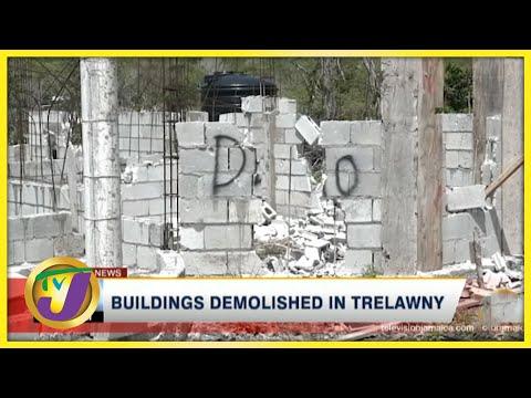 Buildings Demolished in Trelawny   TVJ News - July 18 2021