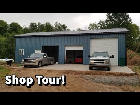 My Shop is DONE! A Quick Tour of my 30x56 Garage