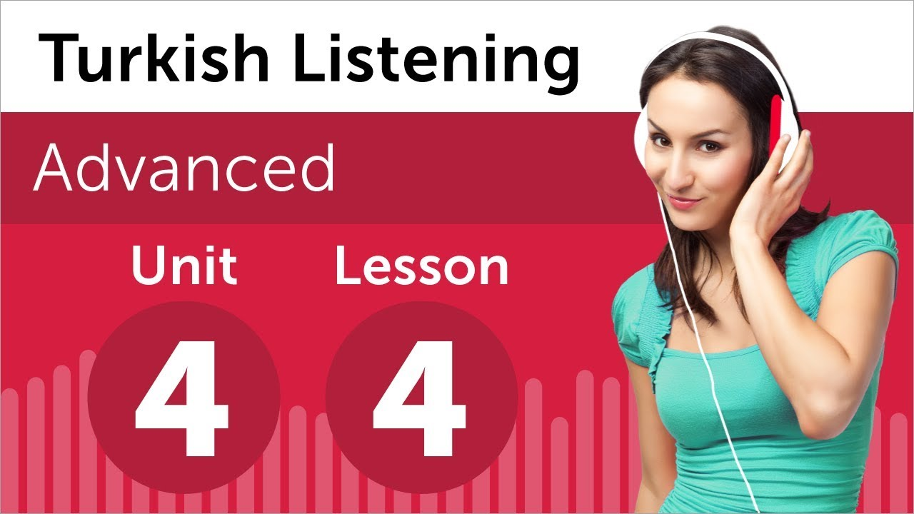 Turkish Listening Practice - Discussing a Sales Graph in Turkish