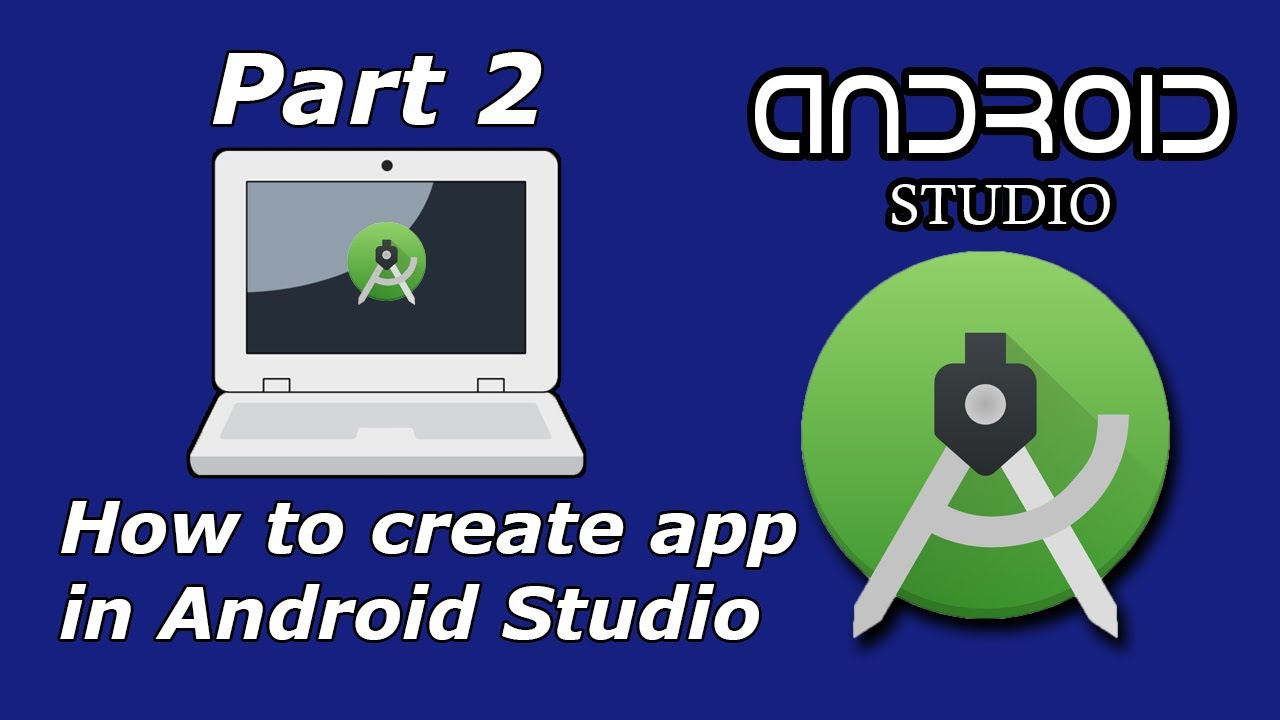 Cara membuat aplikasi android di Android Studio - YouTube
