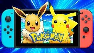 Pokémon Let's go Eevee Gameplay O Inicio Conferindo o Game Nintendo Switch
