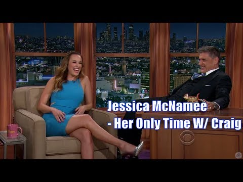 """Jessica McNamee - """"I can barely fit into this dress"""" - Her Only Time With Craig Ferguson"""