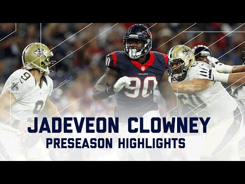 Jadeveon Clowney Highlights | Saints vs. Texans | NFL