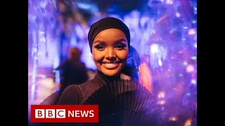 Halima Aden; The first hijab-wearing model speaks about leaving the fashion industry - BBC News
