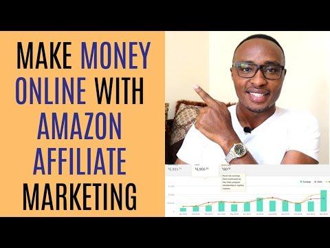 How to Make Money Online in Kenya Through Amazon Affiliate Marketing. thumbnail