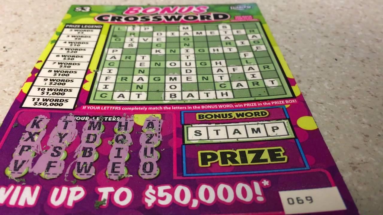 Bonus Crossword /Big WIN CHECK IT OUT!!!!!!!!!!!! - YouTube