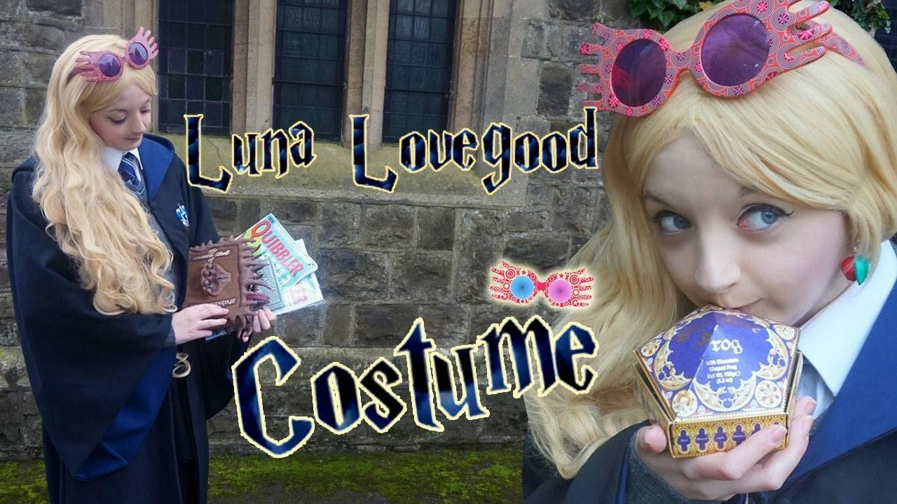 Luna Lovegood Costume The Luna Diaries Youtube