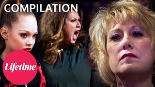 """WE NEED TO WALK OUT!"" Sore LOSERS and POOR Sports - Dance Moms (Flashback Compilation) 