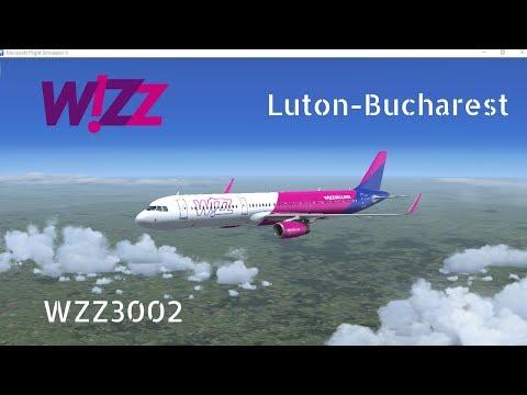 Luton(EGGW) to Bucharest(LROP) | Airbus A321 IAE | WZZ1TR | ROAD TO 400