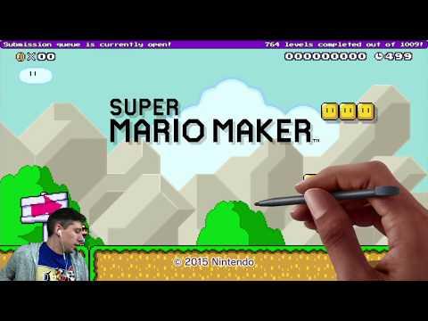 [LIVE] |SUPER MARIO MAKER| Viewer Levels & Blind Kaizo Race