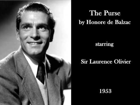 Laurence Olivier in 'The Purse' by Honoré de Balzac (1953) - Radio drama