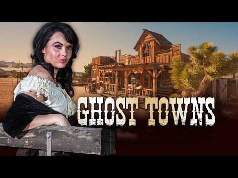 Ghost Towns Of The American Gold Rush - 4576