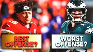 5 Best and 5 Worst Offenses in the NFL RIGHT NOW! (2019)