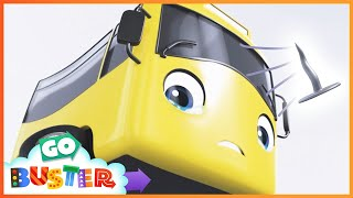 Accidents Happen Song | Go Buster | Baby Cartoons | Kids Videos | ABCs and 123s