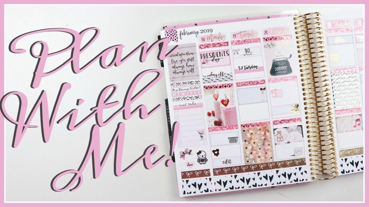 Plan With Me! Erin Condren Life Planner - YouTube