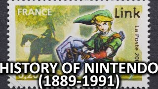 The History of Nintendo (1889-1991)